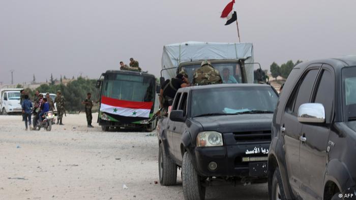 Syrien Kobane Syrische Regierungstruppen