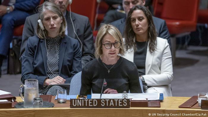 کلی کرافت، نماینده آمریکا در سازمان ملل