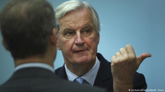 Brexit-Verhandlungen in BrüssselBarnier
