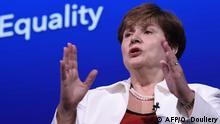 Washington IMF Treffen Geschlechtergerechtigkeit Kristalina Georgieva