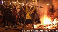 Barcelona Ausschreitungen nach Gerichtsurteil Separatisten