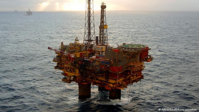 Платформа для добычи нефти марки Brent