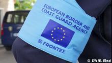 Frontex Armbinde Logo Schriftzug