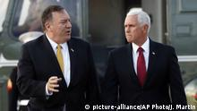 Mike Pence und Mike Pompeo