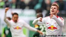 RB Leipzig - VfL Wolfsburg Timo Werner