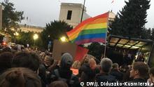 Demo vor dem polnischen Sejm