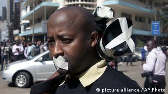 Proteste für Pressefreiheit in Kenia