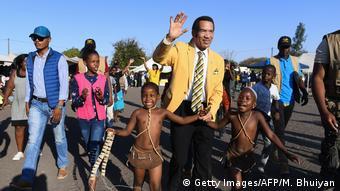 Botsuana ehemaliger Präsident Khama Sereste