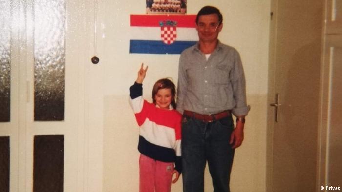 Blaženka Gabelica s ocem