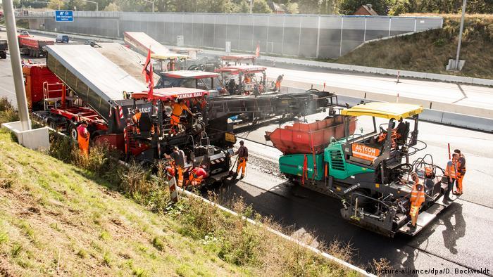 Gradnja autoceste u Njemačkoj (picture-alliance/dpa/D. Bockwoldt)