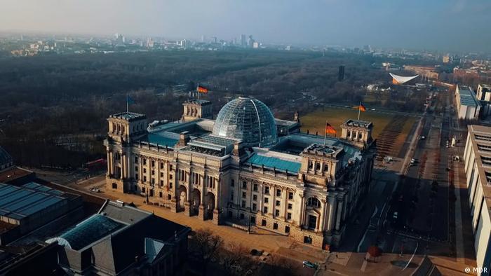 Рейхстаг - здание парламента (бундестага) Германии в Берлине
