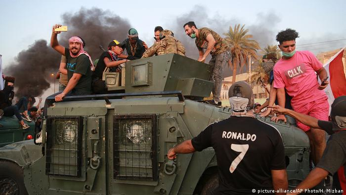 Irak Anti-Regierungsproteste in Bagdad