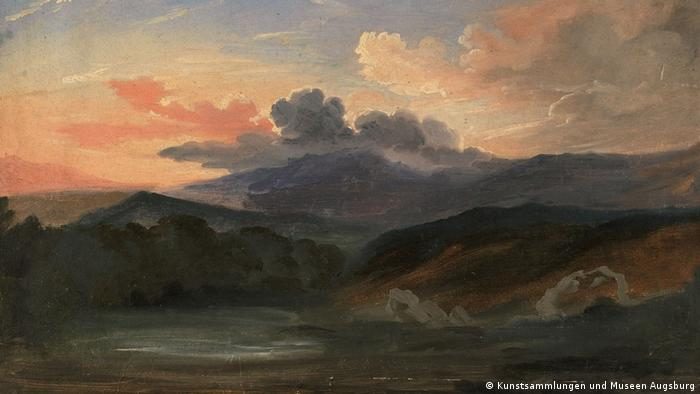 Johann Moritz Rugendas | Michoacán, Mexiko. 1834. Archivo Memoria Chilena. Biblioteca Nacional de Chile (Kunstsammlungen und Museen Augsburg)