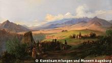 Jamapa_Rugendas Öl von von Johann Moritz Rugendas (auch bekannt als Mauricio Rugendas). Motiv: Jamapa, Mexiko. 1831. Photo Copyright: © Kunstsammlungen und Museen Augsburg