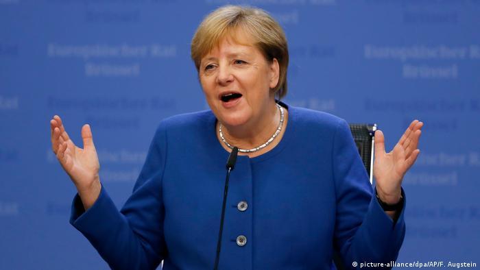 Gipfel der EU-Staats- und Regierungschefs in Brüssel (picture-alliance/dpa/AP/F. Augstein)