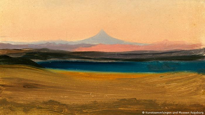 Johann Moritz Rugendas | Vulkan Colima in Mexiko. 1834 (Kunstsammlungen und Museen Augsburg)