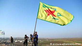 Koύρδοι του ΥPG στο Κομπάνι