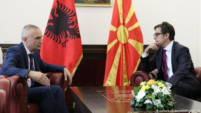 Symbolbild EU Beitrittsverhandlungen Albanien Nordmazedonien