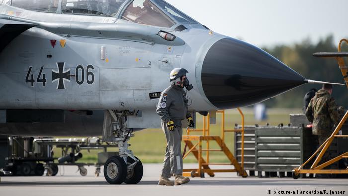 En caso de guerra nuclear, aviones alemanes transportarán algunas ojivas.