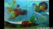 Davoud Sarfaraz iranische Künstler in Deutschland   Das dritte Auge
