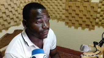 Mosambik | Tomé João, Journalist von Rádio Chuabo