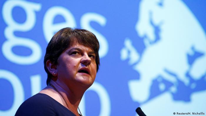 Democratic Unionist Party leader Arlene Foster