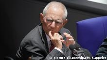 Deutschland l Bundestag - Bundestagspräsident Wolfgang Schäuble