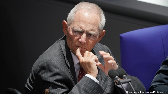 Bundestag President Wolfgang Schäuble (picture alliance/dpa/M. Kappeler)