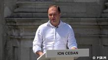 Ion Ceban, Vertreter der Sozialisten Partei der Republik Moldau (PSRM). Das Bild wurde von der Pressestelle der PSRM der DW zur Verfügung gestellt.