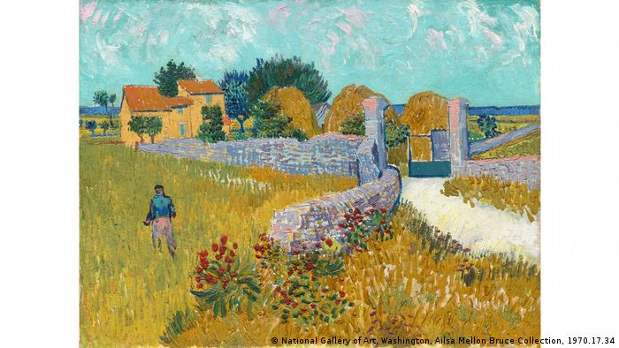 Vincent van Gogh: Farmhouse in Provence, 1888 (National Gallery of Art, Washington, Ailsa Mellon Bruce Collection, 1970.17.34)