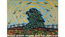 ****MAKING VAN GOGH. GESCHICHTE EINER DEUTSCHEN LIEBE***** Wilhelm Morgner (1891-1917) Der Baum, 1911 Öl auf Leinwand, 60 x 86 cm ©Museum Wilhelm Morgner, Soest Foto: Thomas Drebusch