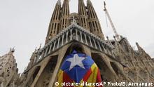 Spanien Barcelona | Proteste für die katalanische Unabhängigkeit