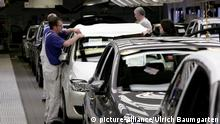 Deutschland Wolfsburg VW l Produktion VW Golf A6