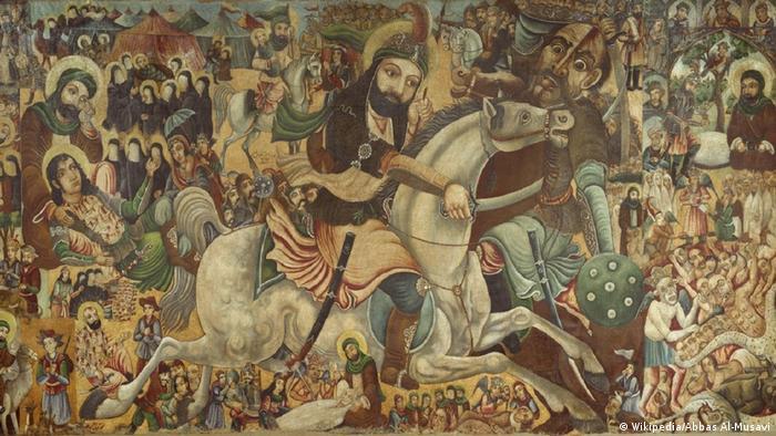Malerei | Battle of Karbala - Abbas Al-Musavi (Wikipedia/Abbas Al-Musavi)