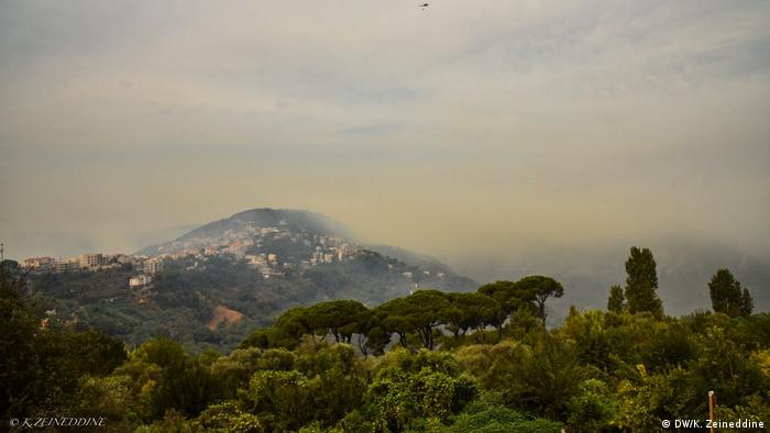 Waldbrände in Libanon (DW/K. Zeineddine)