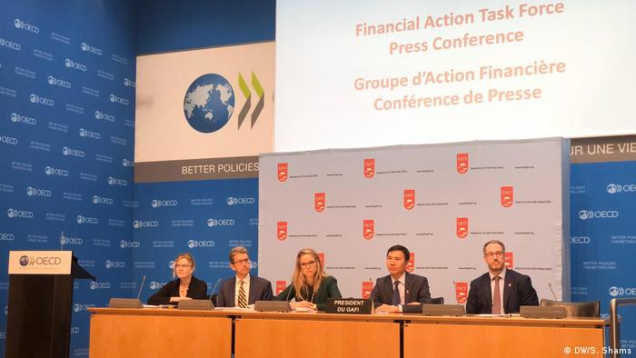 Financial Action Task Force in Paris
