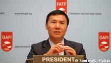 Frankreich l Financial Action Task Force (FATF) Medienkonferenz - Xiangmin Liu