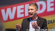 AfD Björn Höcke l Wahlkampf-Veranstaltung der AfD in Bad Langensalz, Thüringen
