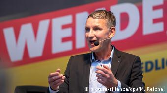 AfD politician Björn Höcke (picture-alliance/dpa/M. Reichel)