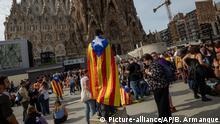 Spanien Katalonien Protest