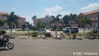 Angola Stadtansicht Cuíto