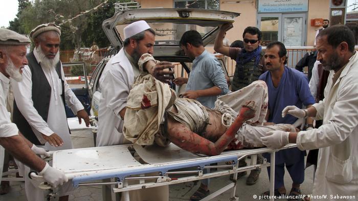 Afghanistan Anschlag auf Moschee in Jalalabad
