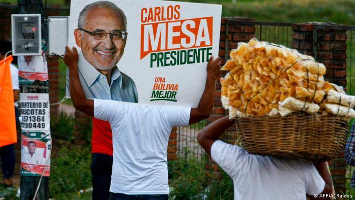 Seguidores de Carlos Mesa.