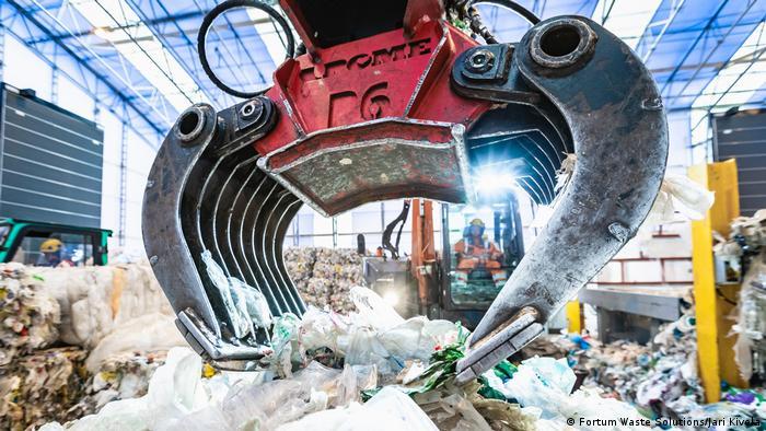 Sortieranlage von Fortum Waste Solutions/Jari Kivela, Finnland