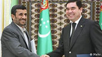 Achmadinedschad in Turkmenistan