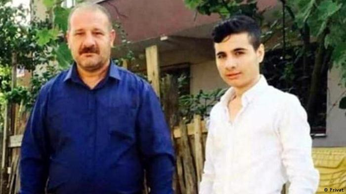 Murder victim Kadir Sakci and his son