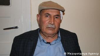 Ekrem Yasli, who was reportedly attacked for speaking Kurdish