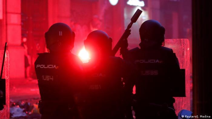Kataloniens Generalstreik