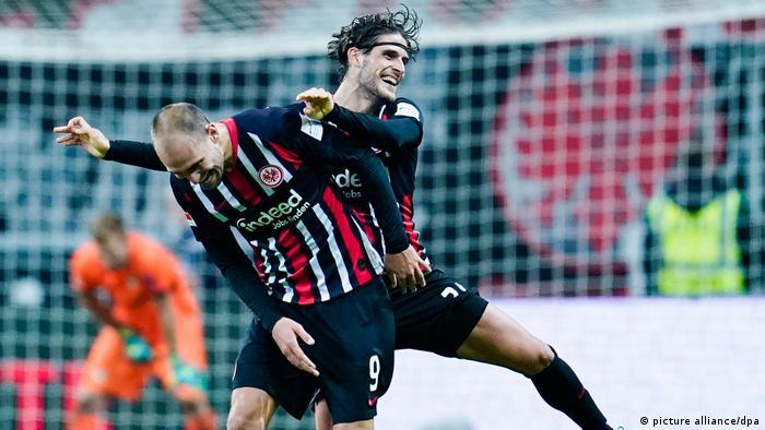 Eintracht Frankfurt - Bayer Leverkusen (picture alliance/dpa)