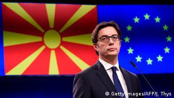 Stevo Pendarovski (Getty Images/AFP/J. Thys)